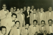 Riz Ortolani with the Mexico Orchestra