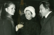 Catherine Spaak with Riz and Katyna