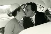 Riz y Katyna el día de su boda: 31 de agosto de 1964