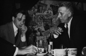 Riz Ortolani con Stan Kenton en casa del famoso músico en Hollywood
