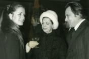 Catherine Spaak con Riz y Katyna