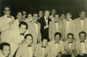 Riz Ortolani con l'Orchestra in Messico