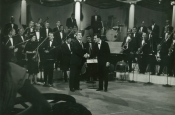 Riz con l'Orchesta durante della RAI
